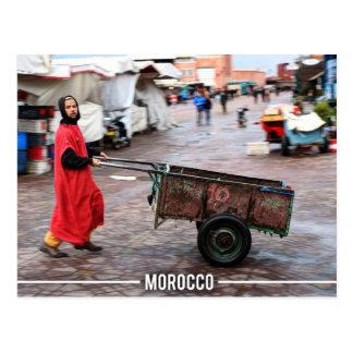 Medina of Marrakesh - Marrakesh Souk, Morocco Postcard