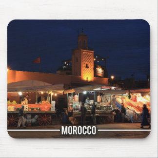 Medina of Marrakesh - Marrakesh Souks, Morocco Mouse Pad