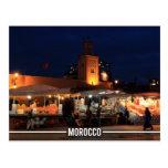 Medina of Marrakesh - Marrakesh Souks, Morocco Postcard