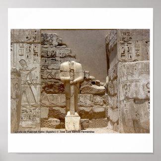 Medinet Habu Egypt 070 Posters