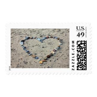 """Medio, 2,1"""" x 1,3"""", $0,49 (1ra clase 1oz) sello postal"""
