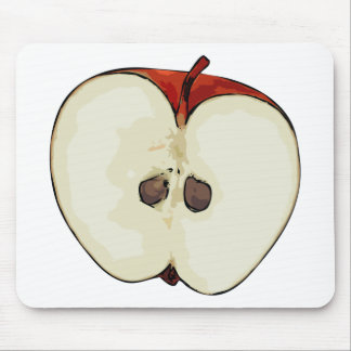 Medio Apple Alfombrilla De Ratón