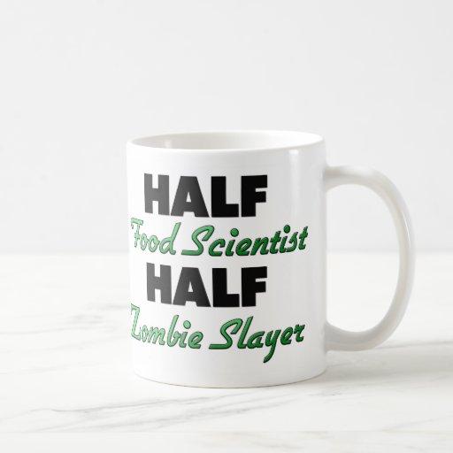 Medio asesino del zombi del medio científico de la tazas de café