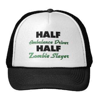 Medio asesino del zombi del medio conductor de la gorra