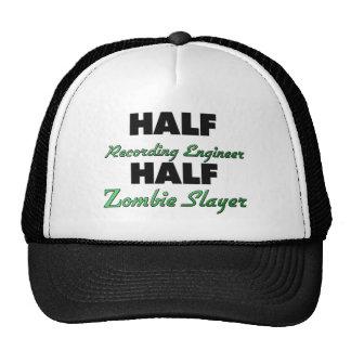 Medio asesino del zombi del medio ingeniero de la gorras de camionero