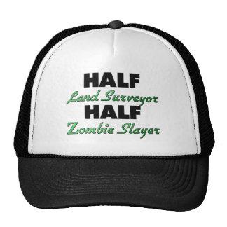 Medio asesino del zombi del medio topógrafo de la gorros bordados
