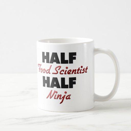 Medio científico medio Ninja de la comida Taza De Café