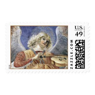 Medio de Melozzo del sello del ángel del renacimie