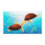 """Medio del beso de la tortuga de mar - """"flotador pa lona estirada galerías"""