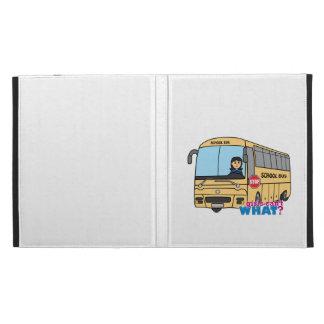Medio del conductor del autobús escolar