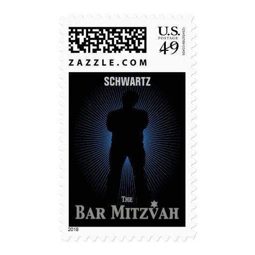 Medio del sello de la estrella de cine de Mitzvah