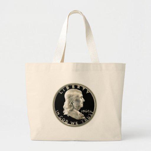Medio dólar de Benny Bolsas Lienzo