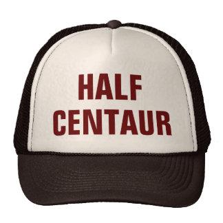 Medio gorra del camionero del Centaur
