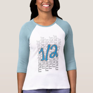 medio marathoner 13,1 camiseta