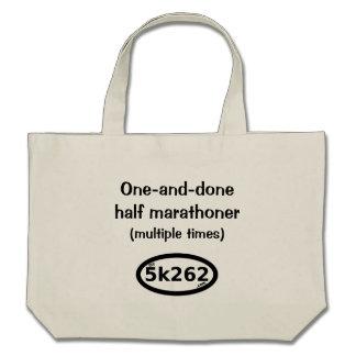medio marathoner Uno-y-hecho (tiempos múltiples) Bolsas