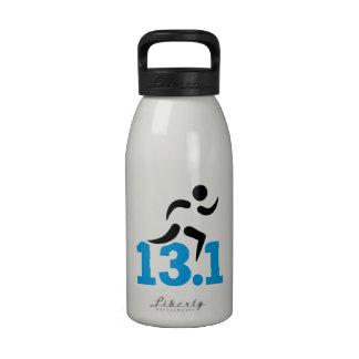 Medio maratón 13,1 millas botellas de beber