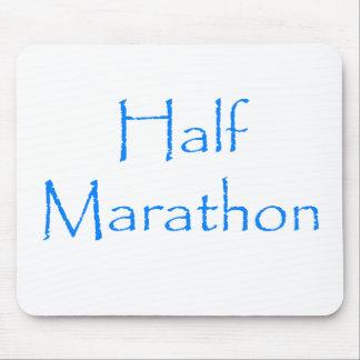 Medio maratón alfombrillas de ratón