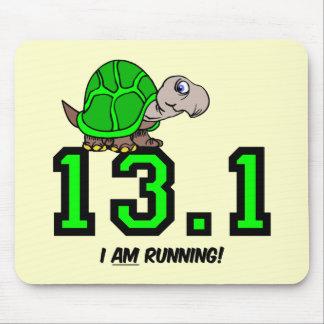 Medio maratón tapetes de ratón
