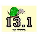 Medio maratón tarjetas postales