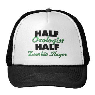 Medio medio asesino del zombi de Orologist Gorros