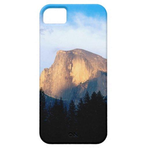 Medio parque de la bóveda de Yosemite iPhone 5 Carcasa