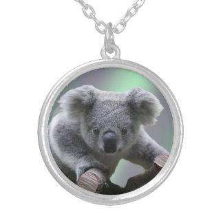Medio pendiente del collar de la koala