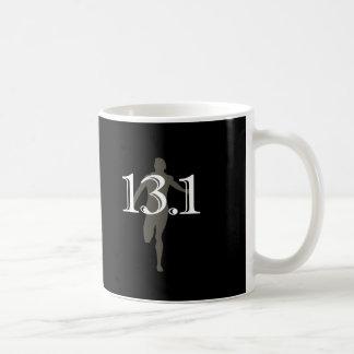 Medio recuerdo personalizado del maratón del corre taza de café