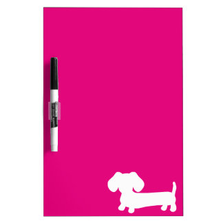 Medio rosado brillante del tablero seco del pizarras blancas de calidad