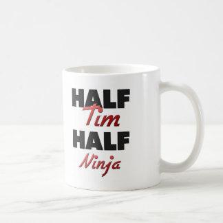 Medio Tim medio Ninja Tazas De Café
