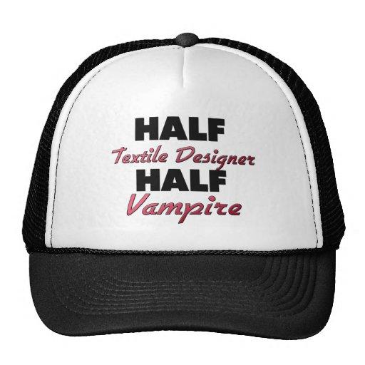 Medio vampiro del medio diseñador de la materia te gorras