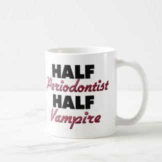 Medio vampiro del medio Periodontist Tazas
