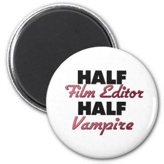 Medio vampiro del medio redactor de la película iman para frigorífico
