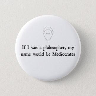 Mediocrates - button