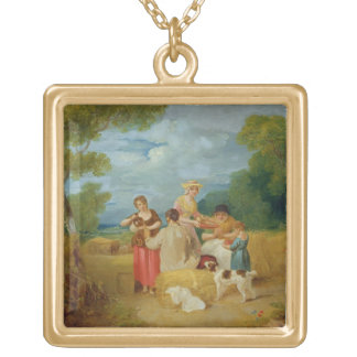 Mediodía, 1799 (aceite en lona) colgante cuadrado