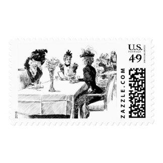 Mediodía 1898 del día de Nueva York Sello