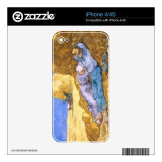 Mediodía de Vincent van Gogh el  , la siesta, iPhone 4S Skins