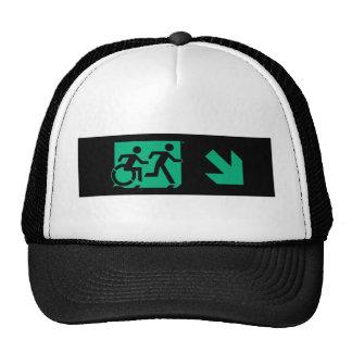 Medios accesibles de la salida corriente del gorras