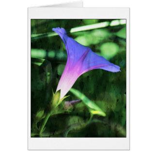 Medios artísticos de la correhuela tarjeta de felicitación