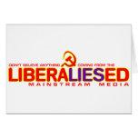Medios de la corriente principal de LiberaLIESed Felicitacion