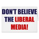 Medios liberales tarjetón