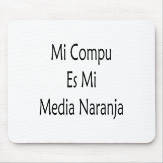 Medios Naranja del MI Compu Es MI Alfombrilla De Raton
