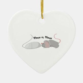 Medios sociales adorno de cerámica en forma de corazón