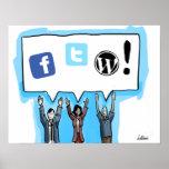 ¡Medios sociales FTW! Impresiones