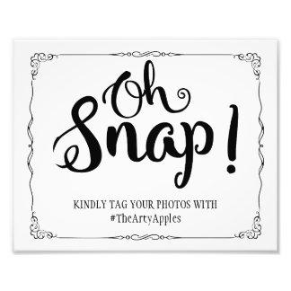 medios sociales que casan la broche del hashtag de cojinete