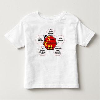 medios Violence© del silencio de la T-camisa-Yo Playeras