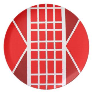 Meditación 1 placa platos para fiestas
