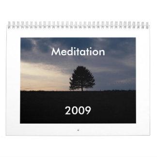 Meditación 2009 calendario