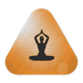 Meditación anaranjada del zen altavoz bluetooth