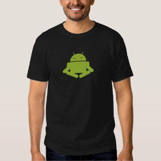 Meditación androide remeras