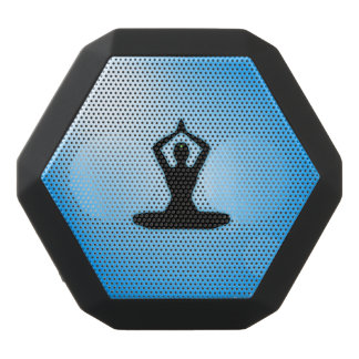 Meditación azul del zen altavoces bluetooth negros boombot REX